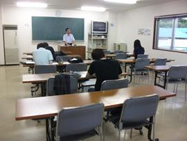大町自動車教習所第7教室